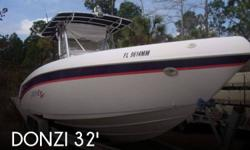 Actual Location: Saint Augustine, FL - Stock #005888 - If you are in the market for a fishing, look no further than this 2000 Donzi 32 ZF Center Console, just reduced to $58,000.This vessel is located in Saint Augustine, Florida and is in good condition.