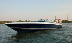 Beautifully maintained performance power boat with large cockpit, fully appointed cabin with air-conditioning and generator, underwater lights and numerous options. Originally a Freshwater boat !!! Must see to appreciate ! Nominal Length: 45' Length