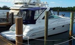 2000 36' Doral SE -- Immaculate Express Cruiser with lots of Recent Upgrades -- Under 400 Hours on Twin 7.4L Mercruisers w/ NEW Bravo 3 DrivesRecent Maintenance / Upgrades Include: New Canvas + Eisenglass, New Sun pads, New LED TV's (Cockpit & Salon),