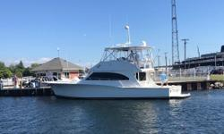 Brokers notes: This beautiful boat is now inside a heated facility for the cold winter months but can be seen 7 days a week, please call to set up a private showing. Trades considered. Owners have recent survey, all recent service records and many