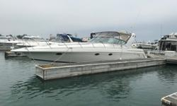 Diesel powered, well equipped 41' Formula. Full electronics, generator and well cared for. Formula's Flagship 41' is one of their most popular models. Trades considered. CANVAS BIMINI TOP COKPIT COVER (GRAY) SIDE/AFT CURTAINS DECK ANCHOR DAVIT ANCHOR