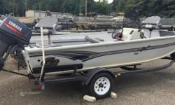 2000 G3 160, CONSIGNMENT 2000 G3 160 DEEP VEE ALUMINUM FISHING BOAT. INCLUDES TROLLING MOTOR, TRAILER, AND YAMAHA 40HP 2-STROKE ENGINE. CALL OR EMAIL FOR MORE INFORMATION Nominal Length: 16' Stock number: G3160