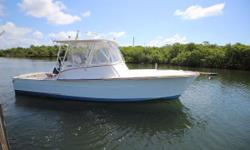 Motivated seller --- just reduced! This custom, hardtop Gamefisherman is in beautiful condition and has the biggest engine option. The only Gamerfisherman built with the bigger 420 HP single Yanmar diesel and provides a nice