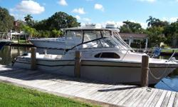 OWNER LOOKING FOR OFFERS!! When it comes to the quality built into a sport fishing boat, none compare to the Grady White boats. This 300 Marlin is one of the more popular models that Grady White started production on in 1995. It has the deep-V hull with a