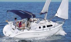 The Hunter 290 (which became the 306) has an amazing amount of space for a boat in this category. Amazingly well laid out with the amenities of a much larger boat, she is the perfect entry family cruiser. Hunter is famous for making the sailing layout