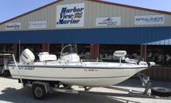 2000 Key West 196 Bay Reef in Pensacola Florida in 2014 this boat was repowered with a new 2013 Evinrude E-Tec 150. The motor still has warranty. Includes an Aluminum I-beam trailer with spare tire and carrier. Electronics include a vhf, gps/ff, stereo