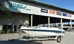 2000 Larson bow rider 17 Get ready for spring! stock # 7985 EXCELLENT FINANCING AVAILABLE This boat includes the following features: Nice fish and ski boat !! ? Trolling motor ? cushions in excellent condition ? 130 Johnson motor ? trailer in excellent