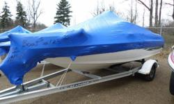 The Larson SEi 186 Ski 'n Fish O-B brings more versatility to the lake. This bowrider can handle a high-performance 150-horsepower motor to get to that fishing-hole in a hurry. With fishing seats mounted on the fore and aft casting decks, and the optional