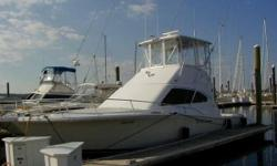 Brand new to the marketwell maintained Luhrs 40' Convertible that is set up for both fishing and Cruising .She is very well equip with the Caterpillar3126.The two stateroom layout affords comfortable