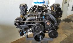 For sale, ready to drop and go, a 2000 Mercruiser 5.0L Alpha inboard engine completely rebuilt and running perfectly. This is a classic Mercruiser engine that is used in many of their 00s era boats and has been discontinued so it?s pretty hard to find.