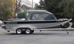 2000 North River Commander OUR 40TH ANNIVERSARY FALL CLEARANCE EVENT IS GOING ON NOW - HUGE SAVINGS! Now only $29,995 blowout. Our 40th anniversary fall clearance event - on now. Great North River jet boat. Pure fishing boat to it's core. All welded
