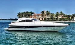 This is an exceptionally well cared for Arneson driven, CAT powered Pershing yacht. Sleek Italian styling, premium handling and capable of topping out at an impressive 45 kts make this a Ferrari on the water. She carries lower hours and is in