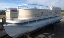 MERCURY 75 MOTOR WITH A TRAILMASTER!!!!! Nominal Length: 20'