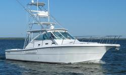MAJOR PRICE REDUCTION! Take her fishing o.r cruising tomorrow..Yard freshened, She is ready now. The owner has relocated, and she needs to be sold. Call in confidence. The introduction of the Rampage 38 in 1999 marked the to reappearance of the Rampage