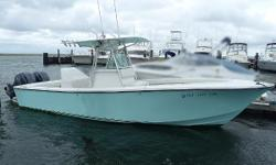 26 REGULATOR 2013 Yamahas 80 Hours Here is the chance to own a 26 Regulator at a very reasonable price. The owner says sell, and someone will get a great deal. Very Clean Open Deck Plan,2000 26' Regulator CC, Light Green Hull, with 80