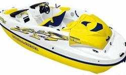 Great little boat to get on the water with. This boat is all about you. Unparalleled performance and acceleration are yours. An extended, pop-up pylon (5 feet above the cockpit floor) allows for optimum skiing and wakeboarding. With a 210hp M2 Jet Drive,