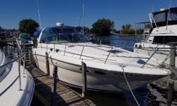 349 Hours. Complete bottom job 2016. The Sundancer's cabin is spacious and elegant with plenty of natural light provided by three translucent deck hatches with interior sky screen covers. Nominal Length: 38' Length Overall: 38' Max Draft: 3.7' Engine(s):