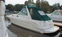 BROKERAGE BOAT - FRESH WATER BOAT One-Owner Boat Always Serviced at PWM Windlass Cockpit Cover Raytheon Electronics Package (GPS, Depth Finder, Water Temperature) AC/Heat Macerator Forward Deck Sun Pad Generator Swim Platform w/Concealed Stainless Steel