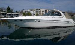 2000 46' Sea Ray Sundancer -- Immaculate Condition, FRESH WATER Since NEW!! -- Loaded with Options!Simply the cleanest 460 Sundancer available!Key Features;Upgraded CUMMINS 430HP Diesels;New Raymarine C120 Chartplotter / Radar / Depth Finder;New