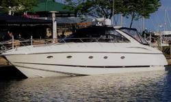 Jane is a shinning example of what a well maintained yacht should look like.  She truly will drop jaws when you see the care and level detail when you step aboard.  She boasts excellent speed while providing a stable ride throughout any sea
