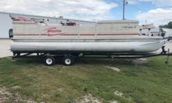 Tandem axle trailer, (2) Fishing seats, Docking Lights, SS Prop. 'SOLD AS IS' Engine(s): Fuel Type: Gas Engine Type: Outboard Quantity: 1 Beam: 8 ft. 0 in.
