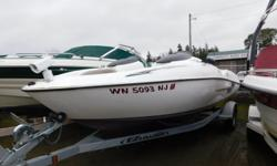 """2000 Yamaha LS 2000 ***** MECHANIC SPECIAL ***** This is a 2000 model year Yamaha LS2000 with a 2013 EZ Loader galvanized roller trailer. This boat is not running and is sold """"as is""""."""