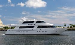 """Accommodations Major overhaul of engines completed 7/2011. She is """"zeroed"""" out and ready for her next owner. This unique tri-deckhas5 staterooms for10 people plus accommodations for crew. Crew quarters are aft and accommodate4 crew. """"Tenacity"""" is a must"""