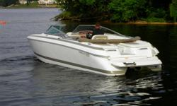 The 262 is in a class by itself with her bold design and legendary Cobalt quality. She offers something special for the family looking for a great time on the water whether it is for a day of water sports, cruising to your favorite cove or a relaxing trip