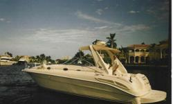 Accommodations This is one of the sharpest cleanest 34 Sundancers on the market. She had a purchase price of over $250000. This included $5600.00 for the Sovereign cherry finish in the cabin Westerbeke generator 12000 BTU A/C system tan gel-coated dash