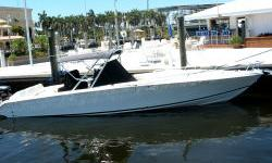 """More Category: Powerboats Water Capacity: 0 gal Type: Sport Fish./Conv./Flybr. Holding Tank Details:  Manufacturer: Jefferson Yachts Holding Tank Size:  Model: Marlago Passengers: 0 Year: 2001 Sleeps: 0 Length/LOA: 35' 0"""" Hull Designer:  Price: $64,900 /"""