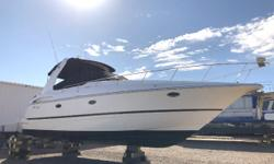 PRICE JUST REDUCED TO $84,900! Vessel has ONLY been in fresh water! Twin Crusader 8.1 HO, 425 hp closed-cooling inboard v-drive engines, aprx 113 & 128 hours NO trailer (4) Batteries w/switches Battery charger Halon (2) Shorepower, 30-amp Trim tabs Trim