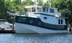 2001 Mirage Great Harbour 37 3 ac's, am/fm stereo pilothouse xm satellite radio, anchor, auto helm, bilge pump, bow pulpit, coast guard pack, compass, depthfinder, 11' dinghy with 40hp Yanmar engine, full gauges, galley, gps, halon, hydraulic steering,