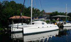 Fountaine Pajot Belize 43 Belize 43 FOR SALE BY OWNER - Now in Florida, August October Chesapeake . Lovingly maintained one-owner cruising catamaran ready for extended offshore cruising. Interior completely upgraded and refurbished. New floor, upholstery,