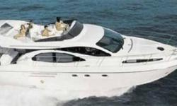 """Description 2001 46' Azimut Flybridge -- Much Desired 2 Stateroom Layout Provides Lots of Room & Gorgeous Italian Styling! """"Big Kahuna"""" has been excellently maintained and is in Pristine Condition... Call to Schedule a Showing Today! Accommodations The 46"""