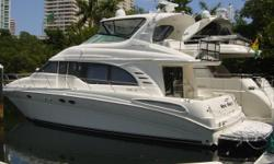 Description 2001 54' Sea Ray Motor Yacht -- Excellent Condition -- The Sea Ray 540 Cockpit Motor Yacht is a luxurious long range cruiser. Her intelligent layout provides seperate quarters and heads for owners and guests. An enormous main salon is ideal