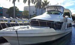 """PRICE REDUCED - Motivated Seller (LOCATION: Fort Lauderdale FL) This Bluewater 5200 Millennium Edition Motor Yacht was designed as a big boat that can go many places even in thin water.Bluewater Yachts are built to be """"easy to handle at sea,"""
