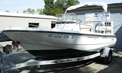 18 Ft Center Console, 2012 150 HP Yamaha F150TXR 4-Stroke, Bimini Top, Stereo CD Player with 4 speakers, SS Prop, Comfort Cushion Package, Galvanized Trailer, Above Average Condition Beam: 8 ft. 0 in. Depth fish finder; Stereo; Bimini top;