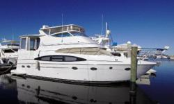 Twin Volvo 480 HP TAMD-74EDC, Kohler 13kw Generator with Sound Shield, Aft Deck and Flybridge Enclosed Hardtops with Air Conditioning, Garmin Electronics Package: Radar/GPS/Pilot with AIS, Volvo Electronic Shift and Throttle Controls, This makes a Great