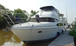Devlish Doll is a 2001 46' Carver 466 Motoryacht. She offers a 3 stateroom, 2 head layout, full-beam aft master stateroom, large, open salon with a lot of seating and storage, large sundeck with hardtop, side deck access and molded-in steps to the