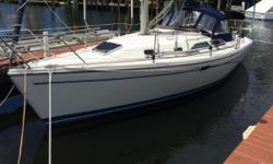 The Catalina 310 is perfect platform for couples and or a small family that enjoy day sailing or even a trip over to the Bahamas. One will fine comfort and space in the fully sprung mattress and a centerline berth. This sailing vessel has raced out of St.