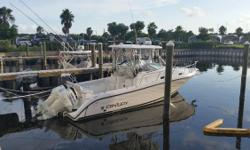 2015 SUZUKI 300'S WARRANTY UNTIL 2021 BOAT WAS REFIT IN 2015 DIESEL GENERATOR---TRADES ACCEPTED Garmin 5212, New a/c, Radar, Outriggers, Under Water Lights, Led Lighting, AM/FM Bluetooth with Dash Remote, WIndlass, Livewell, Bait Station, Fish Boxes, Aft