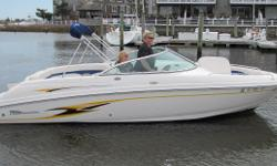 Looks great,LOW hours and for the right price! Nominal Length: 23' Drive Up: 1.4' Engine(s): Fuel Type: Other Engine Type: Stern Drive - I/O Draft: 1 ft. 5 in. Beam: 8 ft. 6 in. Fuel tank capacity: 72 Water tank capacity: 10