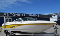 2001 186 SSI Chaparral bow rider, 5.0 Mercruser V8, Interior looks new, Snap fit covers, Bimini Top, Runs and drives great. $9,950.00. 727-862-0776 Antonietti Marine Beam: 8 ft. 2 in.
