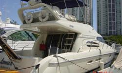 $20,000 PRICE REDUCTION, OWNER SAYS SELL, BRING ALL OFFERS!!! Has the much desired 3 Stateroom layout with Dual Helm Stations! Powered by Twin Diesel Volvo Penta 480HP Full Raytheon Electronics -- Autopilot, GPS, Chart Plotter, etc. + BOW THRUSTER & MUCH