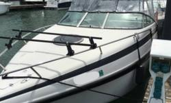 2001 Crownline 230 CCR Cuddy Cabin Re-Power done back in 2015 Currently with only 84 hours on the brand new engine but the Hour meter reads 503 hours Re-Power had been done at 419 hours Equipped with a 5.7 Liter Volvo Penta motor Dual Prop Plenty of Power