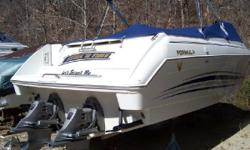REDUCED PRICE 2001 Formula 330 Sun Sport Inclusive Features: AM/FM/CD Changer w/Remote, Batteries w/Switch, Bimini Top, Carpeting, Charge System,Cockpit Cover, Compass, Depth Finder, Fire Extinguisher, Head w/Holding Tank, Hour Meter reads 504/507 at time