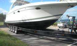2001 Formula 40 PC great condition with Custom trailer Asking $125,000 with trailer. This boat has been lovingly cared for, and is in great condition. The engines have approximately 430 hours. The generator has about 500 hours. Always in Fresh Water,