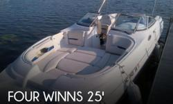 Actual Location: Fenton, MI - Stock #016598 - ONE OWNER....FRESH WATER...LOW HOURS ON NEW ENGINE!!Bow Rider....FRESH WATER, One Owner...talk about FUN How about this Four Winns Fun ShipPlease submit any and ALL offers - your offer may be accepted! Submit