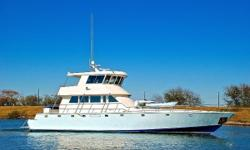 Key Features New Electronics October 2017 New carpeting throughout October 2017 Entire vessel painted 2012 Upper and lower house repainted March 2015 Repainted all decks with non-skid June 2015 Pilothouse has full 360-degree visibility Five