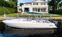 Owner Wants her gone before the new year! Offers welcome! This 322 Intrepid Cuddy 2001 has had only two owners and 327 total hours. New bottom paint was just done (10/16) and the Yamaha F250 OX66 Saltwater Series outboards were serviced. Seller